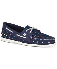 Sperry Men's A/O 2-Eye Prep Nautical Boat Shoes