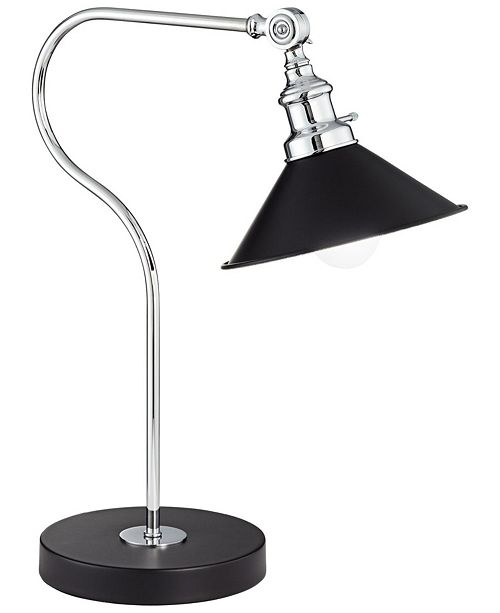Pacific Coast Katyh Ireland Downbridge Black Painted Table Lamp
