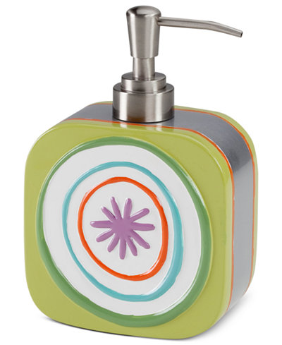 Creative Bath Accessories, All That Jazz Soap and Lotion Dispenser