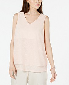 Sleeveless Layered Top, Created for Macy's