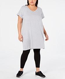 Plus Size Cotton T-Shirt Dress