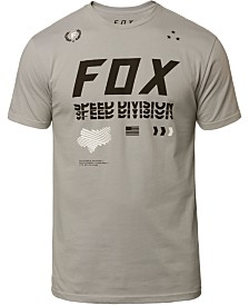 Fox Men's Triple Threat Logo Graphic T-Shirt