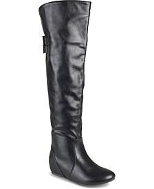 Journee Collection Women's Wide Calf Angel Boot