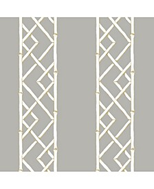 "Latticework Wallpaper - 396"" x 20.5"" x 0.025"""