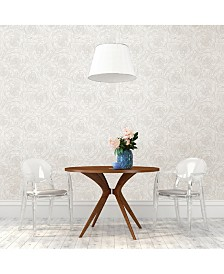 "Brewster Home Fashions Celestial Floral Wallpaper - 396"" x 20.5"" x 0.025"""