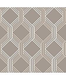 "Linkage Trellis Wallpaper - 396"" x 20.5"" x 0.025"""