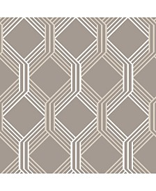 "Brewster Home Fashions Linkage Trellis Wallpaper - 396"" x 20.5"" x 0.025"""