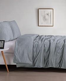 Christian Siriano Crinkle Velvet King Comforter Set