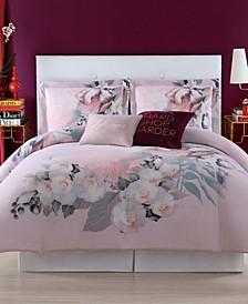 Dreamy Floral King Duvet Set