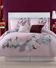 Christian Siriano Dreamy Floral King Duvet Set