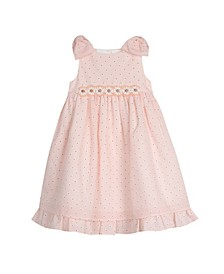 London Girls Bow Sleeve Party Dress