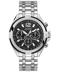 Men's Chronograph Surge Stainless Steel Bracelet Watch 46.5mm