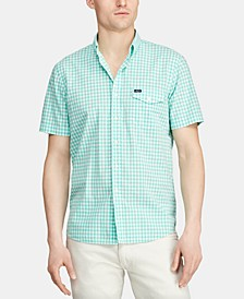 Men's Big & Tall Classic-Fit Gingham Shirt