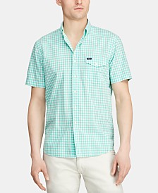 Polo Ralph Lauren Men's Big & Tall Classic-Fit Gingham Shirt