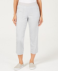 Pull-On Utility Capris, Created for Macy's