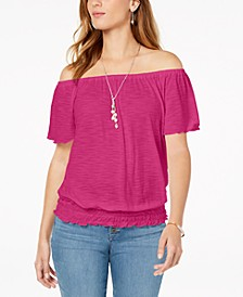 Convertible Off-The-Shoulder Top, Created for Macy's