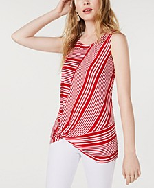 INC Sleeveless Twist Top, Created for Macy's