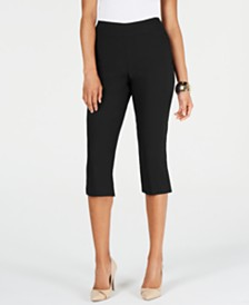 Thalia Sodi Cropped Hardware Pants, Created for Macy's