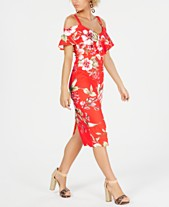 27e5fcefcc8 RACHEL Rachel Roy Off The Shoulder V-Neck Ruffle Dress