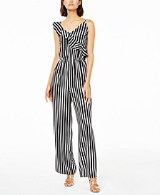 Striped Jumpsuit, Created for Macy's