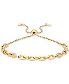 Forzatina Link Bolo Bracelet in 10k Gold