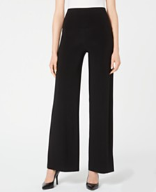 Anne Klein Wide-Leg Pull-On Pants