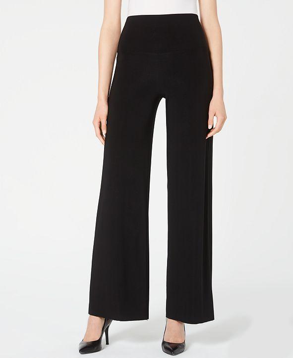 Anne Klein Wide-Leg Pull-On Pants