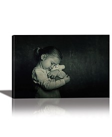 Eurographics Best Friends Framed Canvas Wall Art