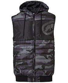 Ecko Unltd Men's Invisible Camo Vest
