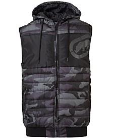 Ecko Unltd Men's Invisible Camo Vest