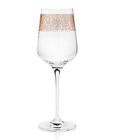 Godinger Ceska Eclipse Gold Bordeaux Glass - Set of 4