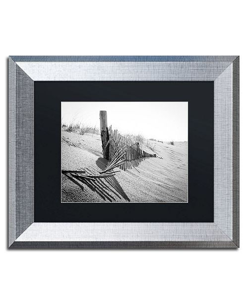 "Trademark Global PIPA Fine Art 'High Key Dunes' Matted Framed Art - 11"" x 14"""