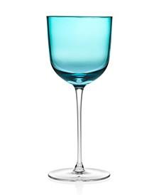 Novo Rondo Sea Blue Goblet - Set of 4