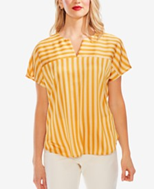 Vince Camuto Striped Dolman Top