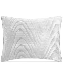 """Hotel Collection Moire 20"""" x 28"""" Standard Sham, Created for Macy's"""