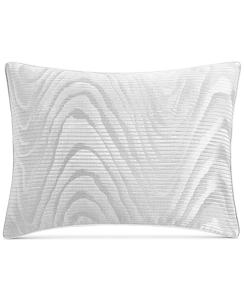 Hotel Collection Moire King Sham, Created for Macy's