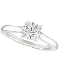 Diamond Solitaire Engagement Ring (1 ct. t.w.) in 14k White Gold
