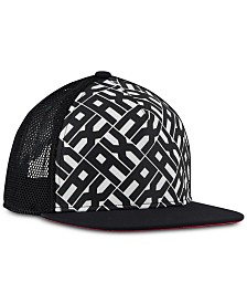 A|X Armani Exchange Men's Logo Snapback Hat
