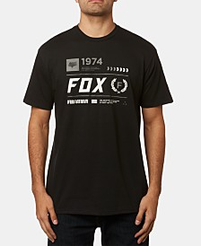 Fox Men's Clocked Out Logo Graphic T-Shirt