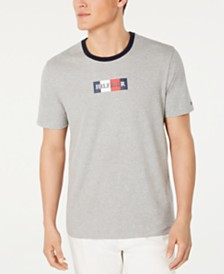 Tommy Hilfiger Men's Component Logo Graphic T-Shirt