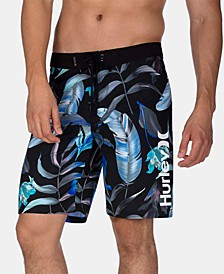 "Men's 20"" Feather Graphic Board Shorts"
