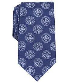 Tasso Elba Men's Medallion Tie, Created for Macy's