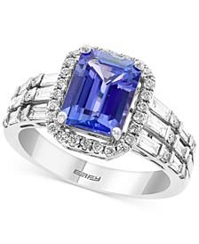 EFFY® Tanzanite (2-1/10 ct. t.w.) & Diamond (5/8 ct. t.w.) Statement Ring in 14k White Gold