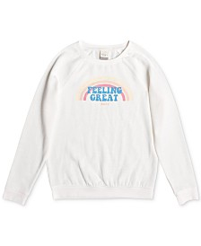 Roxy Big Girls Graphic-Print Sweatshirt