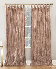 Odelia Distressed Velvet Tab Top Curtain Collection