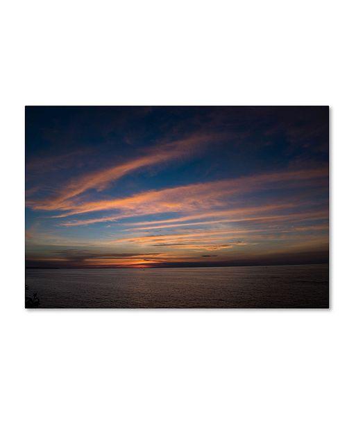 "Trademark Global Kurt Shaffer 'Life is Beautiful' Canvas Art - 12"" x 19"""