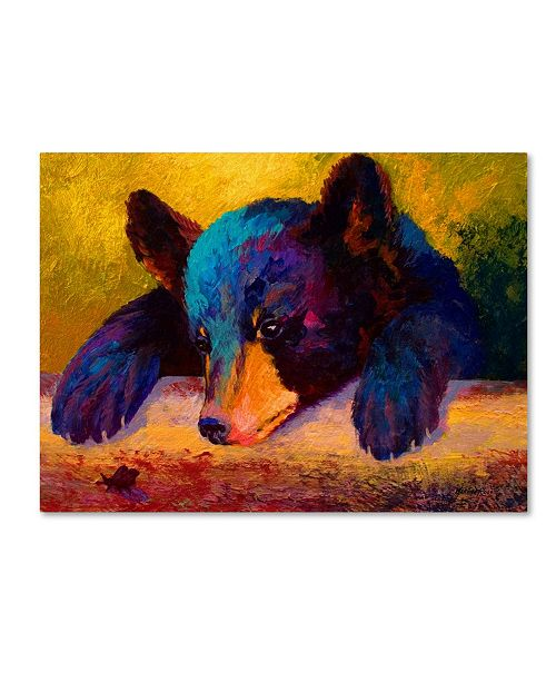 """Trademark Global Marion Rose 'Chasing Bugs' Canvas Art - 14"""" x 19"""""""