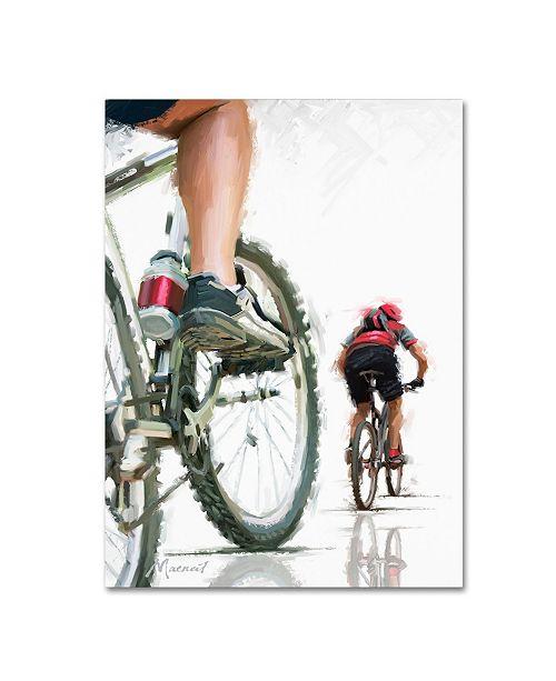 "Trademark Global The Macneil Studio 'Mountain Bikes' Canvas Art - 14"" x 19"""