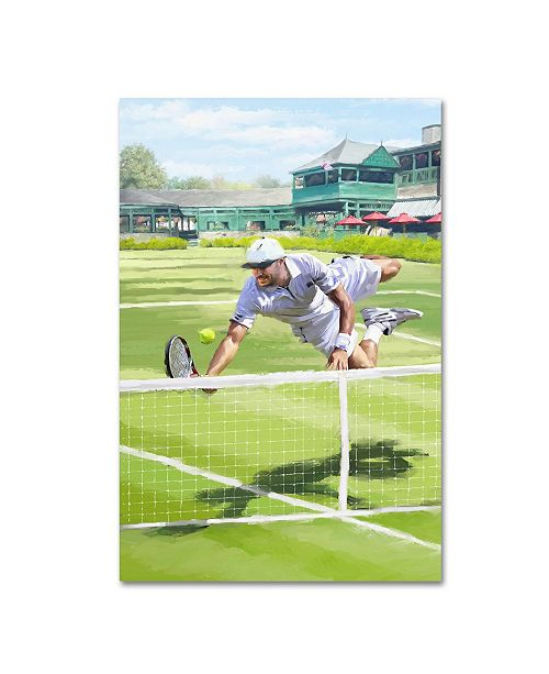 "Trademark Global The Macneil Studio 'Tennis' Canvas Art - 12"" x 19"""
