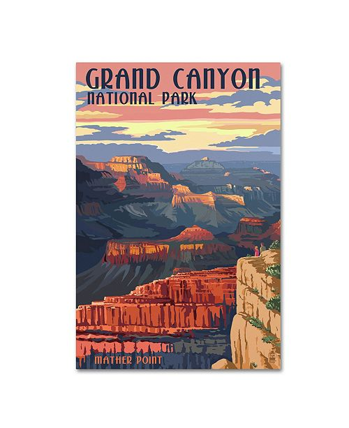 "Trademark Global Lantern Press 'National Park 2' Canvas Art - 12"" x 19"""